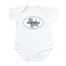 Westie Infant Creeper