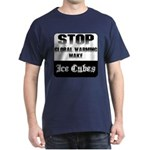 Stop Global Warming Black T-Shirt