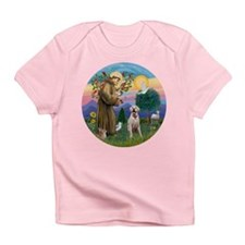 StFrancis-YellowLab (Bz) Infant T-Shirt