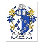 Shadden Coat of Arms Small Poster