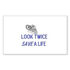 Look Twice Decal