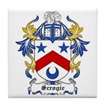 Scrogie Coat of Arms Tile Coaster
