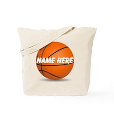 Customizable Basketball Ball Tote Bag