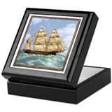 Schooner Keepsake Box