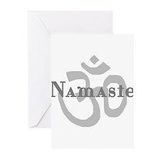Namaste 4 Greeting Cards (Pk of 20)