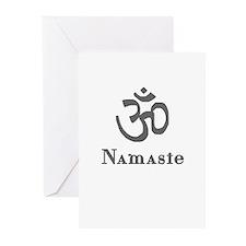 Namaste 3 Greeting Cards (Pk of 20)