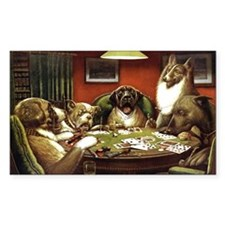 Waterloo Dog Poker Decal