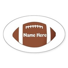 Personalized Football Bumper Stickers