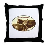 Doberman Throw Pillow