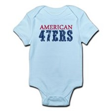 American 46ers.png Infant Bodysuit