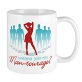 """Man-Tourage"" Mug"