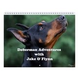 Doberman calendar Wall Calendars