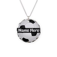 Personalized Soccer Ball Necklace