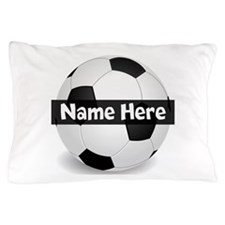 Personalized Soccer Ball Pillow Case