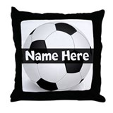 Personalized soccer Throw Pillows