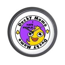 Funny Duckies Wall Clock