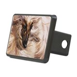 Afghan Hound Rectangular Hitch Cover
