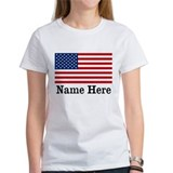 Personalized American Flag Tee
