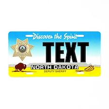 North Dakota Deputy Sheriff Custom License Plate