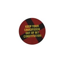 Keep Your Crucifixion Mini Button (10 pack)