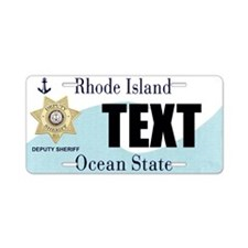 Rhode Island Deputy Sheriff Custom License Plate