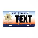 Police License Plates