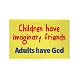 Children Have Imaginary Friends Rectangle Magnet