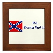 FML = Florida Mud Life Framed Tile