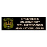 Bumper Sticker: Nephew On Active Duty