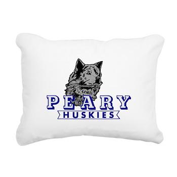 Husky Rectangular Canvas Pillow
