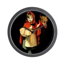 Little Red Riding Hood Gets Revenge Wall Clock