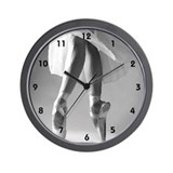 Cute Ballet dancer Wall Clock