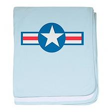 Vintage US Air Force baby blanket