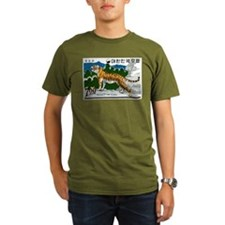 1966 Korea Tiger Postage Stamp T-Shirt