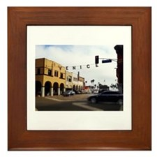 Venice Crossing Framed Tile