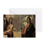 The Saints John Greeting Card