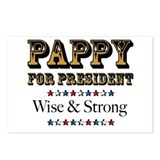 PAPPY for PRESIDENT Postcards (Package of 8)