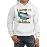 ilovetoscrollEX Hoodie Sweatshirt