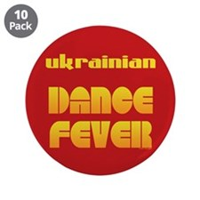 "Ukrainian Dance Fever 3.5"" Button (10 pack)"