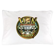 USN Boatswains Mate Chain Pillow Case