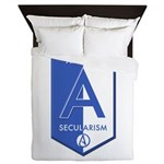 Atheism Secularism Queen Duvet