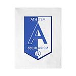 Atheism Secularism Twin Duvet