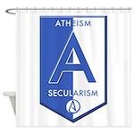 Atheism Secularism Shower Curtain