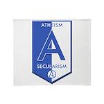 Atheism Secularism Throw Blanket