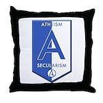 Atheism Secularism Throw Pillow