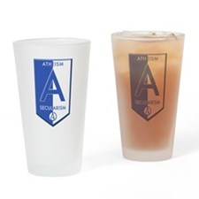 Atheism Secularism Drinking Glass
