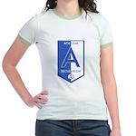 Atheism Secularism Jr. Ringer T-Shirt