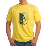 Atheism Secularism Yellow T-Shirt