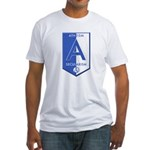 Atheism Secularism Fitted T-Shirt