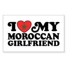 I Love My Moroccan Girlfriend Decal